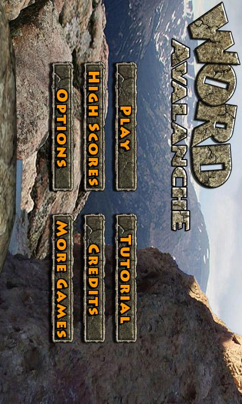Word Avalanche FREE- screenshot
