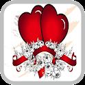 Valentines eCard icon