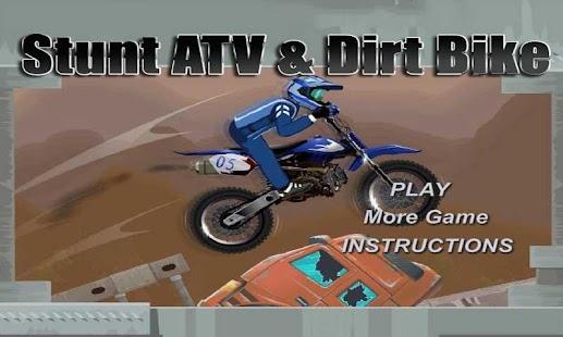 Stunt ATV Dirt Bike