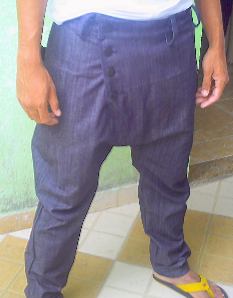 calça jeans saruel masculina