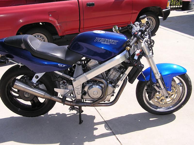 97 Gsxr Front End Mod - Honda Hawk GT Forum