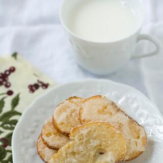 Sugar Rusk (Japanese Sweet Toast Snack).