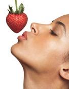 μάσκα προσώπου φράουλα