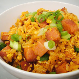 Sriracha and SPAM Fried Rice