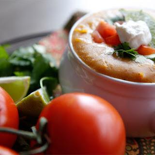 Copycat Chili's Chicken Enchilada Soup.