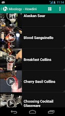 Howdini - Mixology Video App Android Lifestyle