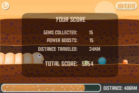 Desert Run - Worms- screenshot