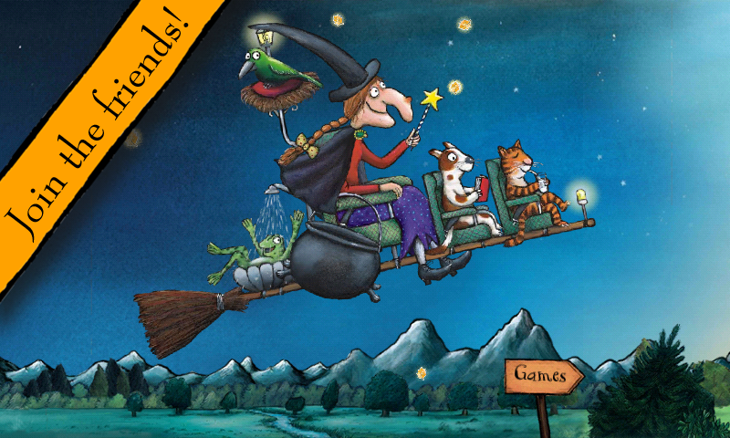Room on the Broom: Games- screenshot