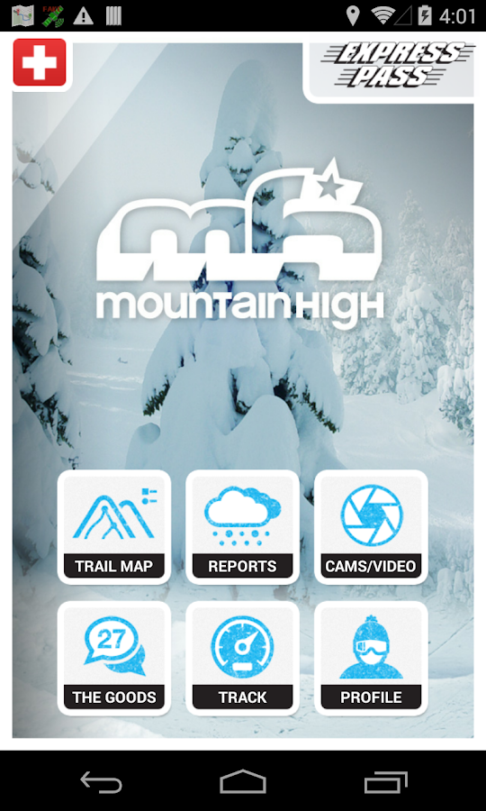 Mountain High - screenshot