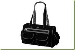 00ef1e794 Modelo casual, desenvolvido em moletinho (100% algodão), a Emmy é uma ótima  opção de bolsa para o dia a dia. Com seis bolsos externos, o modelo é  perfeito ...
