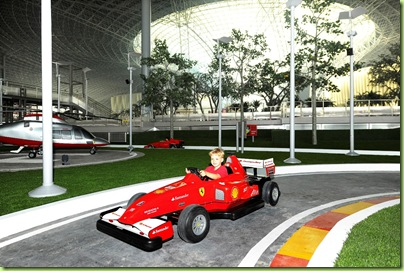 Junior GP at Ferrari World Abu Dhabi I