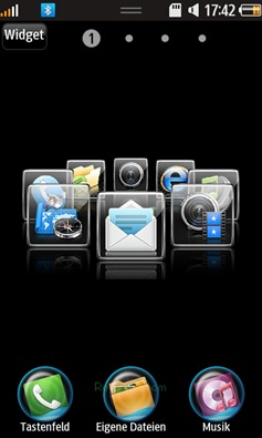 SourceAdda: App Carousel Widget for Samsung Wave