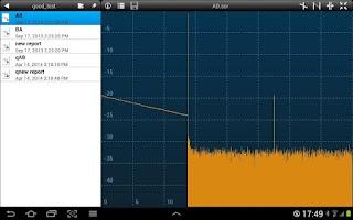 Screenshot of Fiberizer Mobile