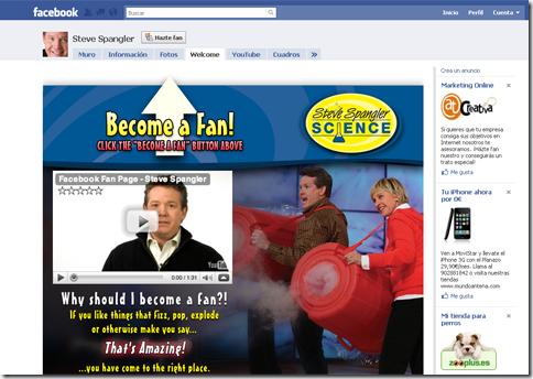 Sitio Facebook 2