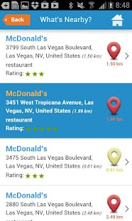 Las Vegas Guide, hotels & map - screenshot thumbnail