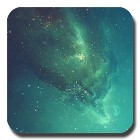 Galaxy 星空 动态壁纸 icon