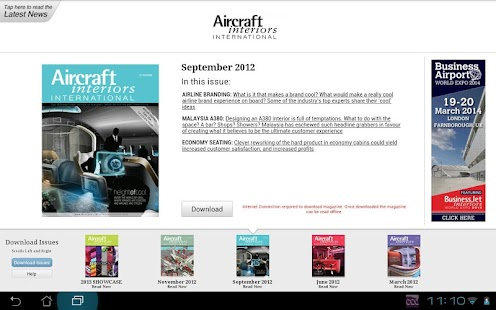Aircraft Interiors Intl- screenshot thumbnail