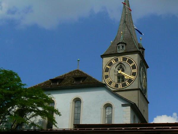 Obiective turistice Elvetia: Fraumunster, Zurich