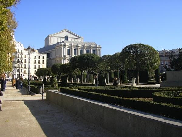 Imagini Spania: Plaza de Oriente, Madrid