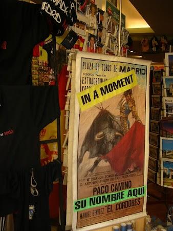 Imagini Spania: vrei sa fi un torrero.JPG