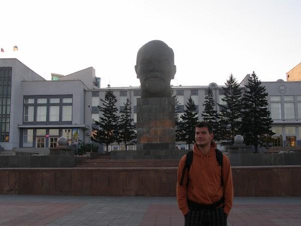 Obiective turistice Rusia: Lenin la Ulan Ude
