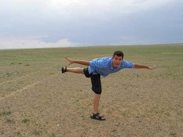 Imagini Mongolia: floricele pe campii