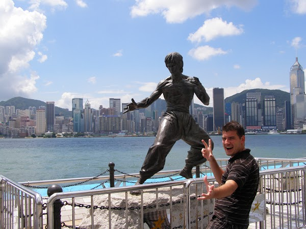Obiective turistice Hong Kong: Bruce Lee
