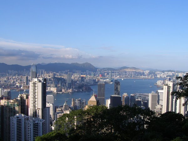 Obiective turistice Hong Kong: Victoria Peak