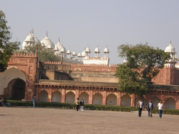 Obiective turistice India: Red fort Agra