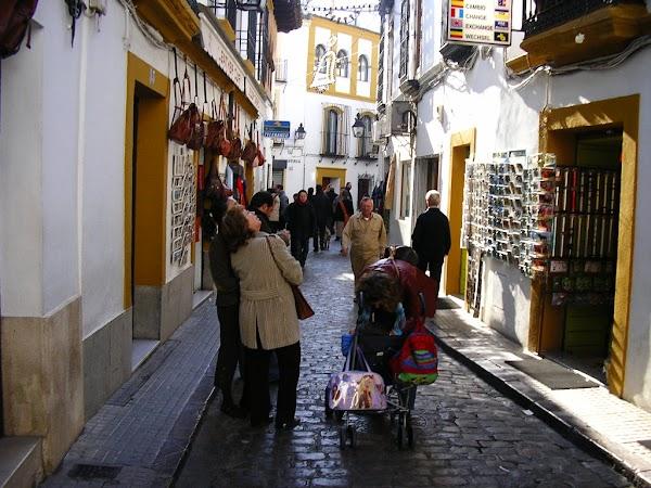 Obiective turistice Spania: cartierul vechi, Cordoba