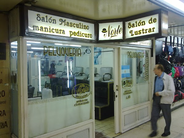 Obiective turistice Argentina: IN SUBPASAJUL DE LA OBELISC, SALON DE LUSTRUIT.jpg