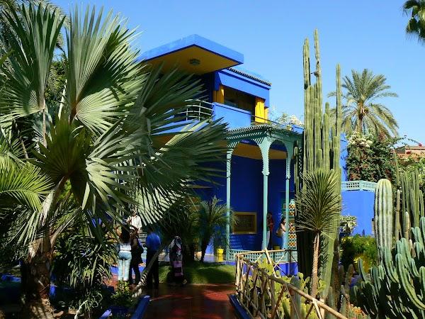 Obiective turistice Maroc: vila Yves Saint Laurent, Marrakech