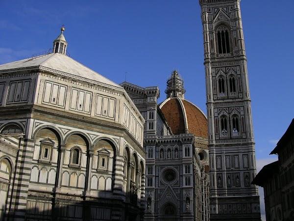 Obiective turistice Italia: Duomo si Baptiserium, Florenta