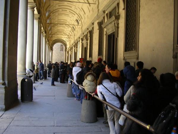 Obiective turistice Italia: Firenze, Palazzo Ufizzi, Florenta