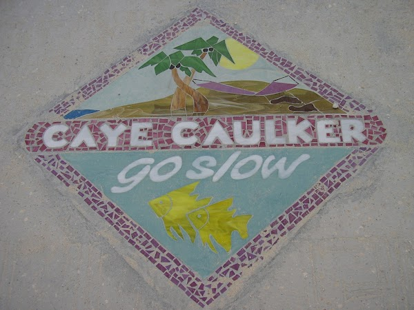 8. Welcome to Caye Caulker.JPG