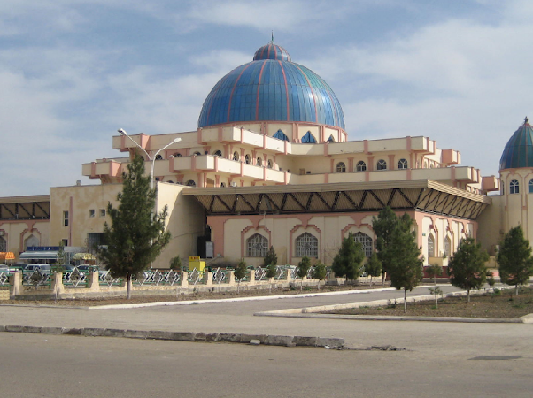 Obiective turistice Turkmenistan: Moschee Mary Drumul spre China