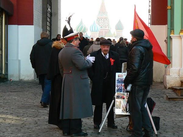 Obiective turistice Rusia: Stalin cu Lenin la o vorba, Moscova