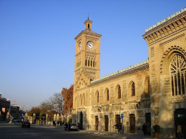 Obiective turistice Spania: Gara Toledo