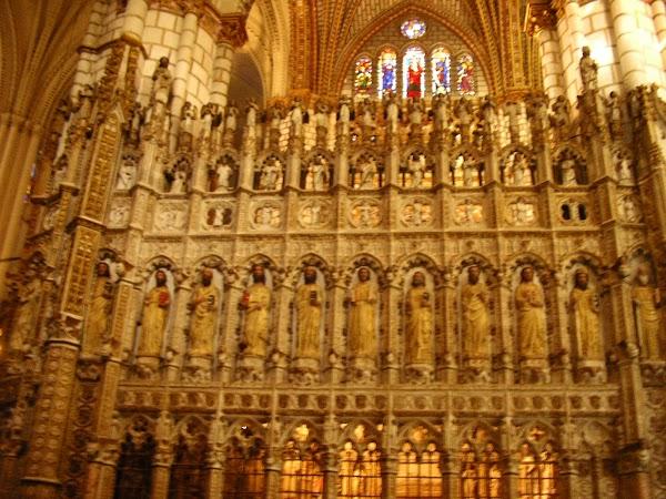 Obiective turistice Spania: Catedrala Toledo.JPG