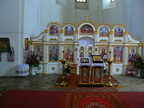 Obiective turistice Ucraina: in interior.JPG