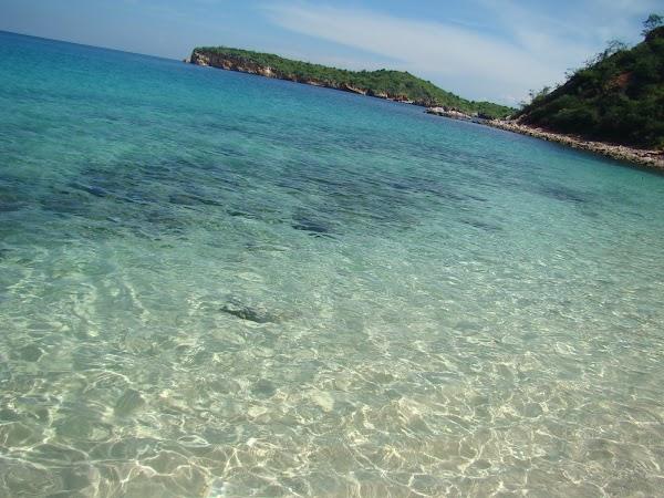 Obiective turistice Venezuela: plaja Mochima.JPG