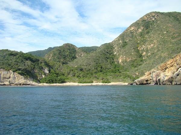 Obiective turistice Venezuela: plaja izolata Henri Pittier.JPG