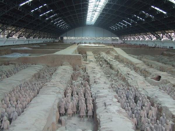 Obiective turistice China: Armata de Teracota, Xian