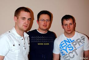 Bryan, Stewart & Danny