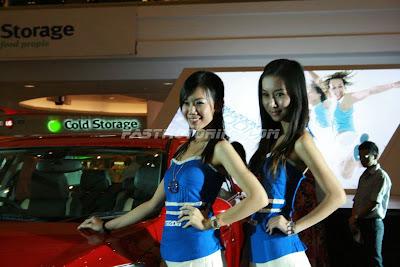 Mazda 3 Launch Girls