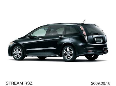 Honda Stream RCZ facelift back