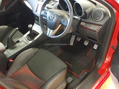 Mazdaspeed Axela 2010 Interior