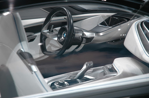 BMW Hybrid Sports Car Interior