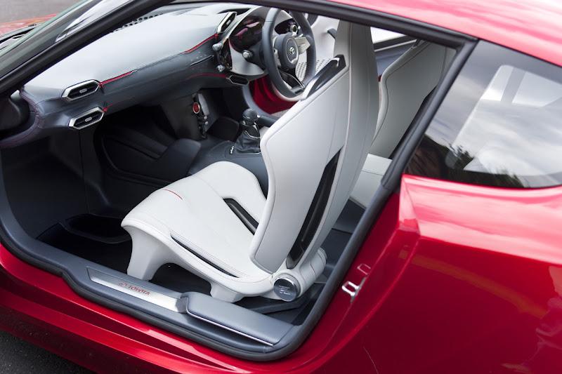 Toyota FT-86 Concept Interior
