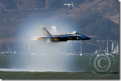 Sneak Pass at Blue Angels Fleet Week Performance In San Francisco